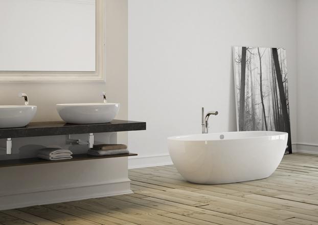 BATHROOM TUB & SINKS