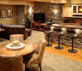 Basement-Finish-Bar-Area