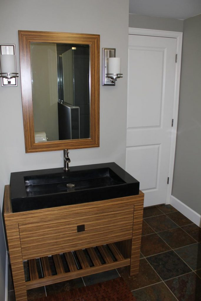 Finish Basement Bathroom