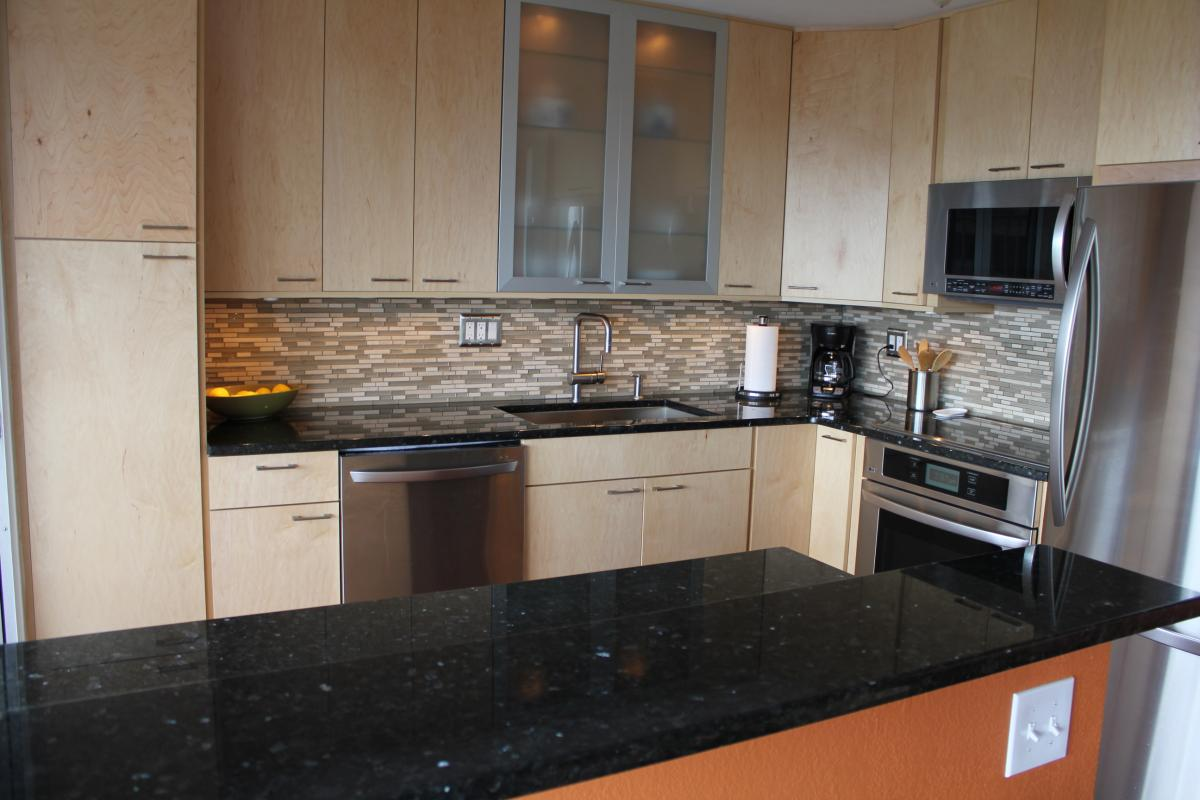 Granite Top Kitchen Home Remodeling Design Kitchen Bathroom Design Ideas Vista