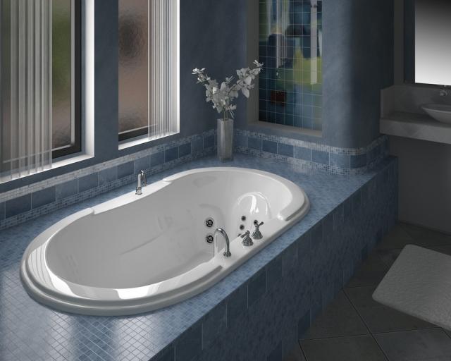 MODERN BATHTUB DESIGN IDEA