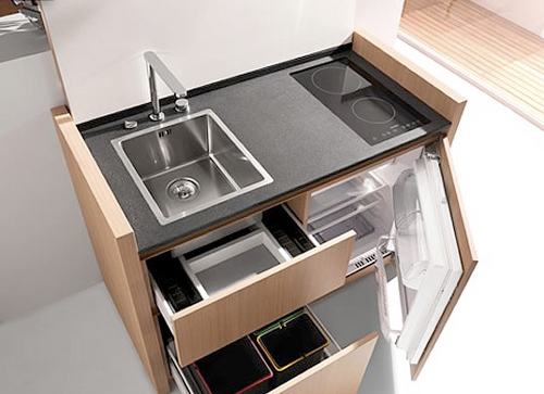 If You Are Contemplating Giving Your Kitchen A Makeover But Are Faced With Serious Space Constraint Then You Need Not Fret This Mini Kitchen Design Will