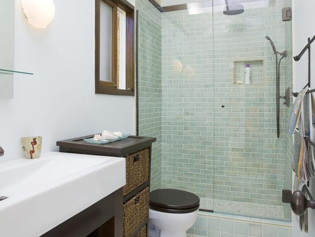 Small Bathroom Remodel Ideas Shower Gray Subway Tile