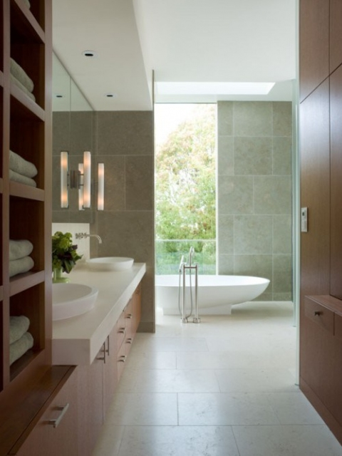 Clean Line Contemporary Style Bathroom.preview