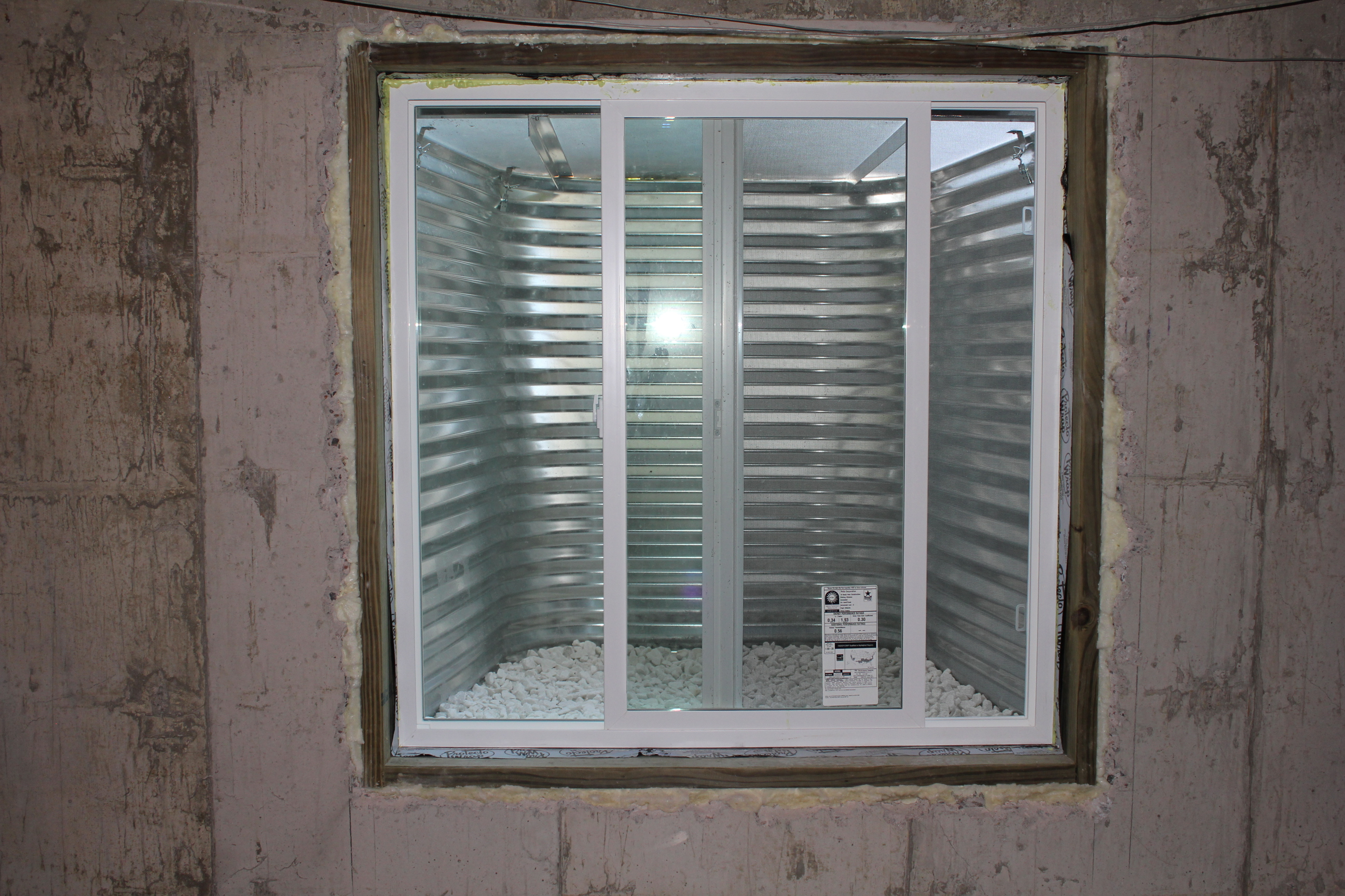 Egress Window in the Basement