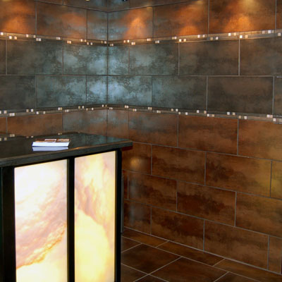 Honey Onyx Backlit Bar
