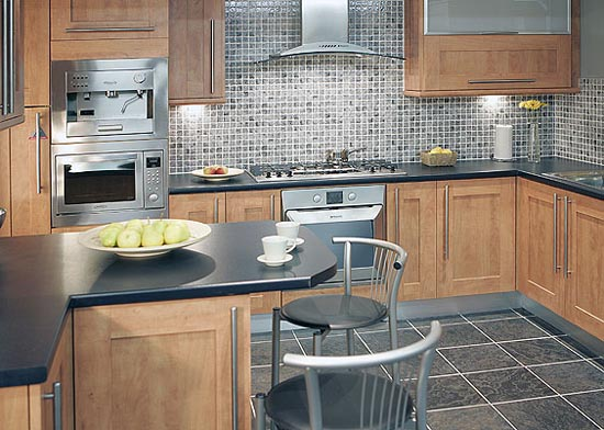 Kitchen 2×2 Backsplash Oven