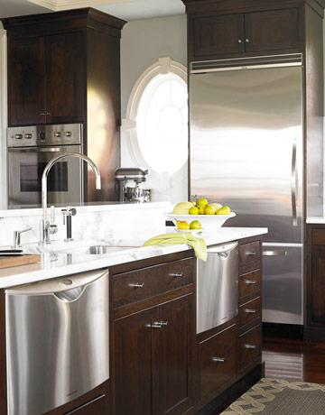 Kitchen Counter & Faucet