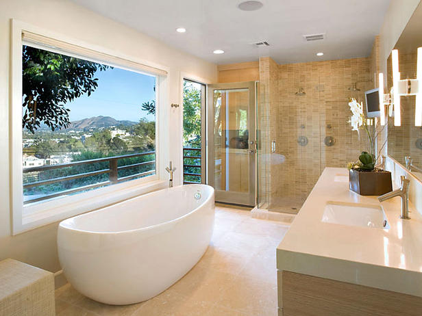 Modern Bathroom Tub