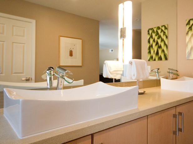 Rectangle Sink & Maple Vanity