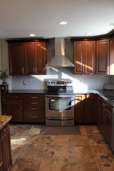 Cherry Cabinets Kitchen, Littleton