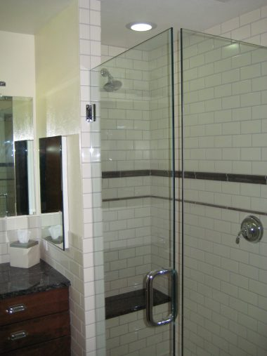 Small Master Bathroom, Denver