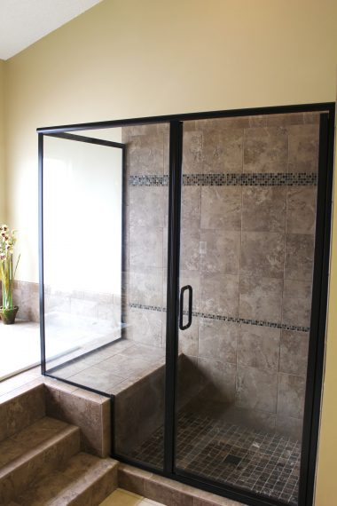 Brown Color Tone Bathroom