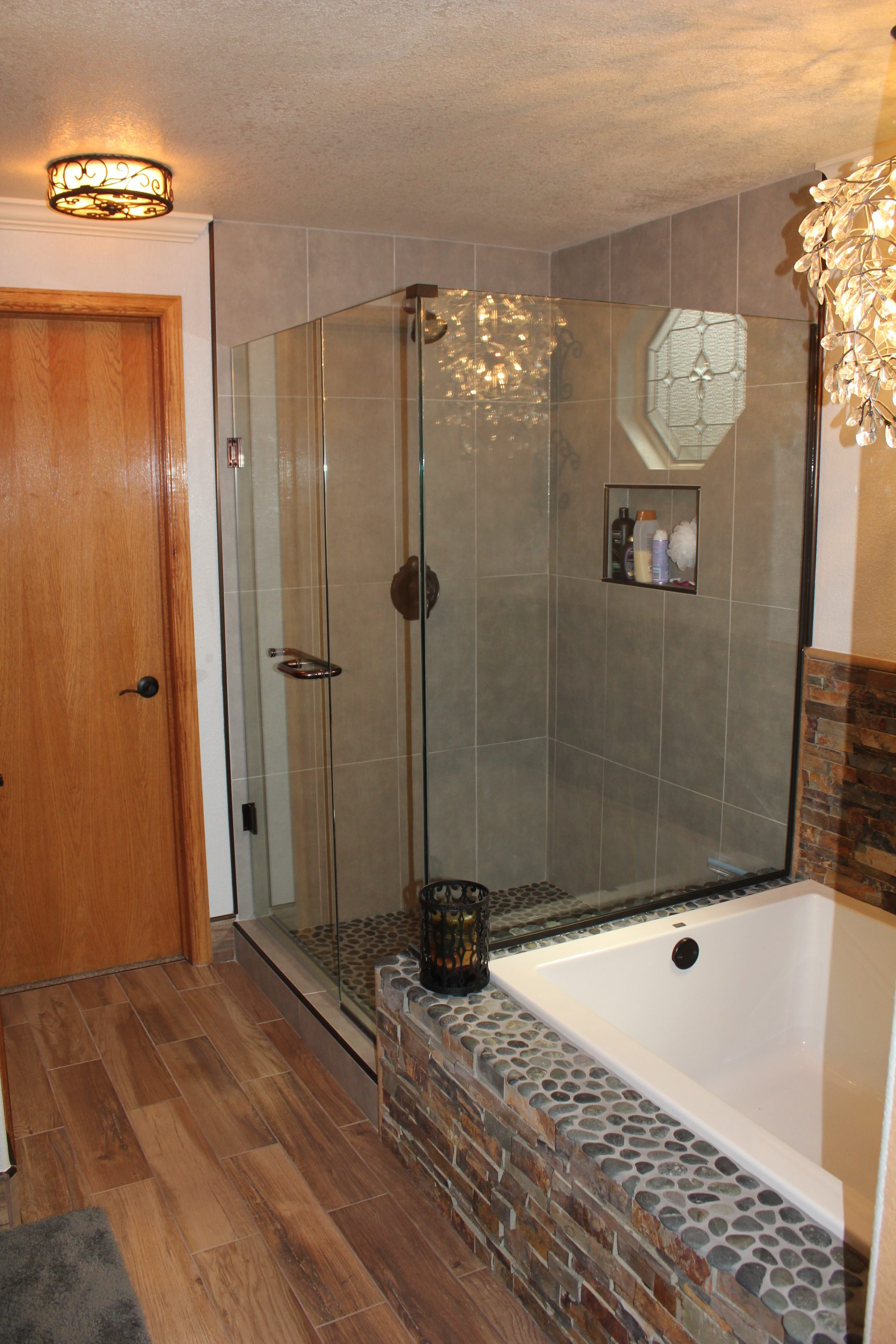 Small Master Bathroom Remodel Vista Remodeling