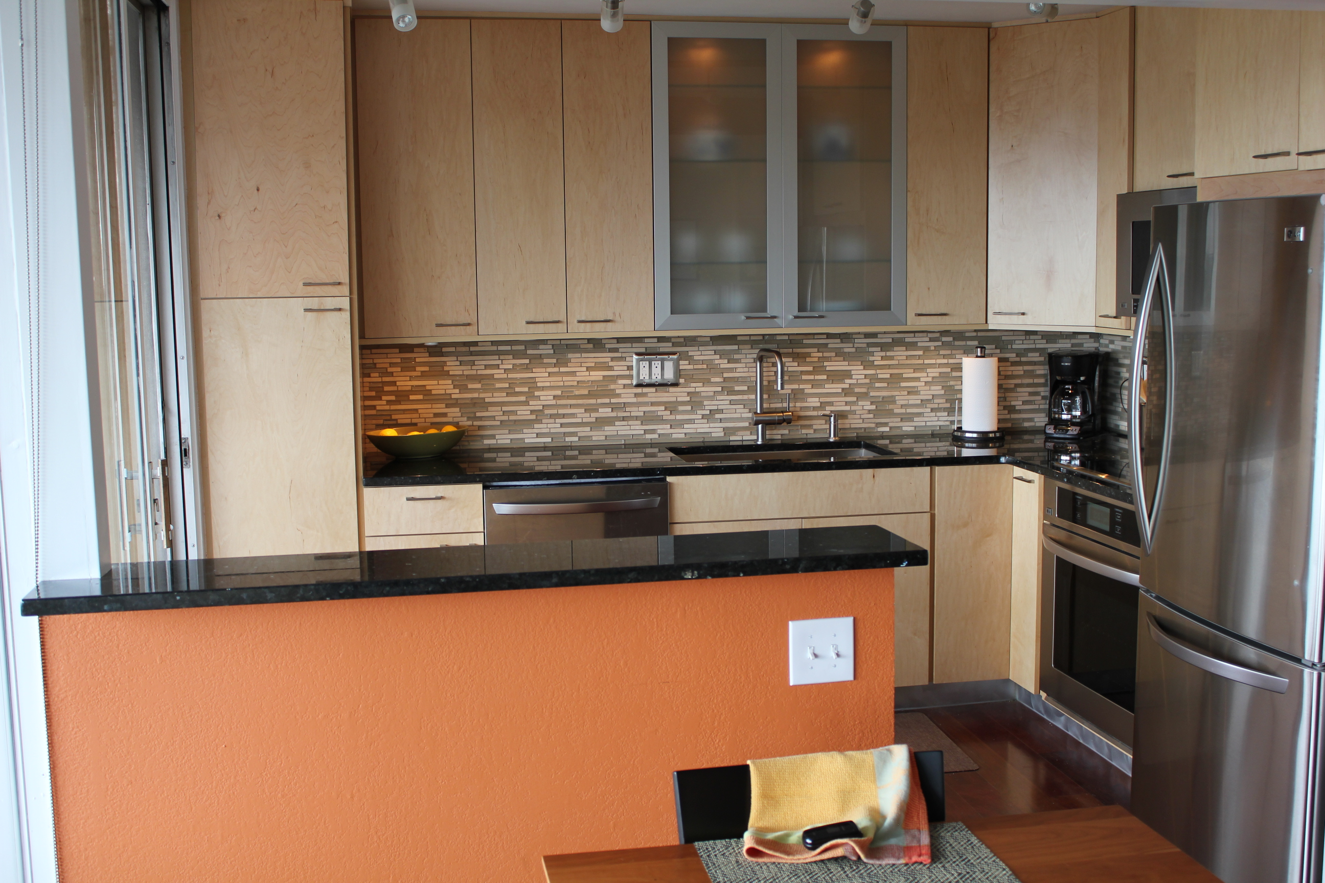 Natural maple kitchen denver vista remodeling - Bathroom remodel contractors denver ...