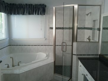 Shower Plus Bathtub Remodel
