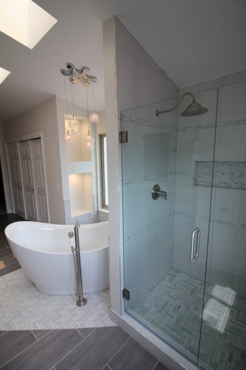 Relaxing Master Bathroom Suite